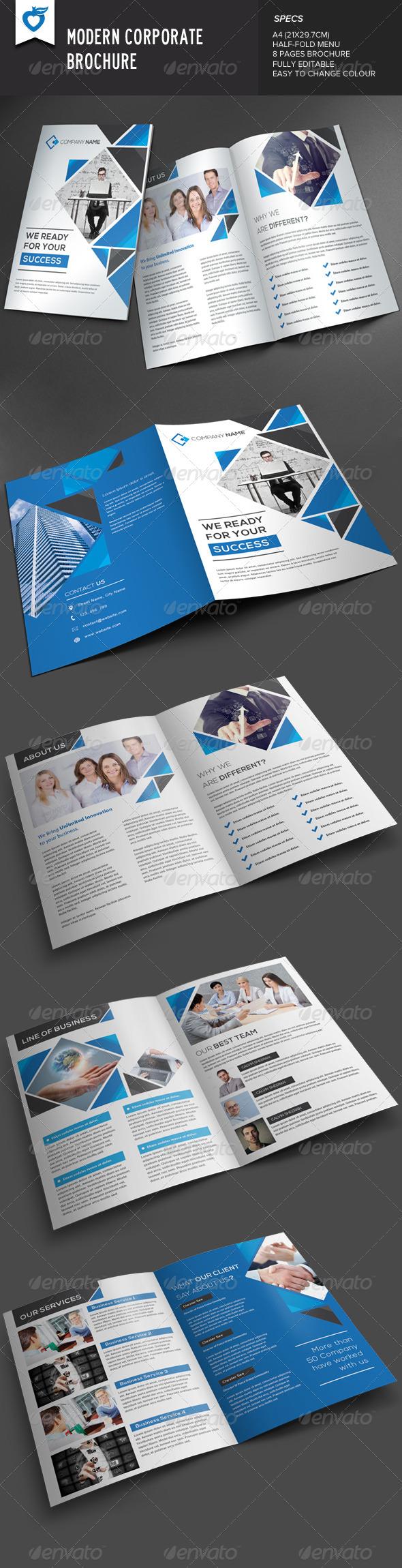 GraphicRiver Modern Corporate Brochure v2 8091790