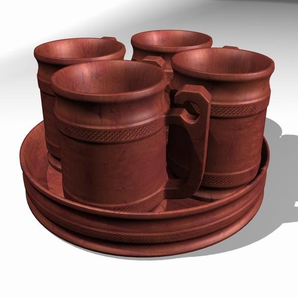 3DOcean beer mug 8091791