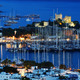 View of Bodrum harbor by night. Turkish Riviera - PhotoDune Item for Sale