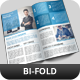 Corporate Bi-Fold Brochure Vol 19 - GraphicRiver Item for Sale
