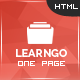 LearnGo - Education Learning Html Landing Page - Marketing Corporate
