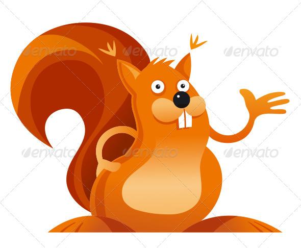 GraphicRiver Squirrel 8092562