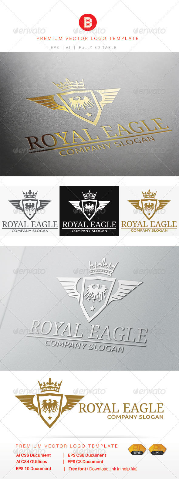 GraphicRiver Royal Eagle 8094365