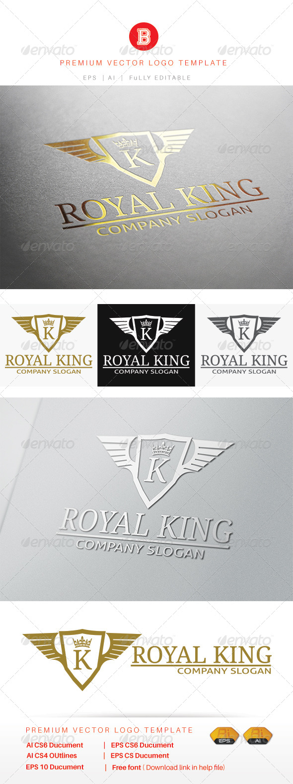 GraphicRiver Royal King 8094393
