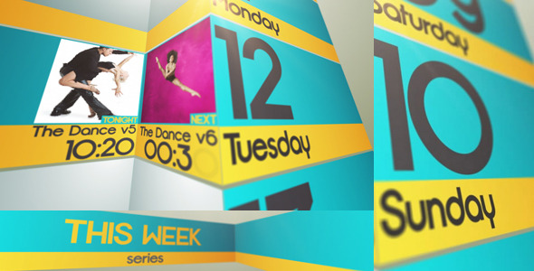 After Effects Project - VideoHive Line Up This Week 793993
