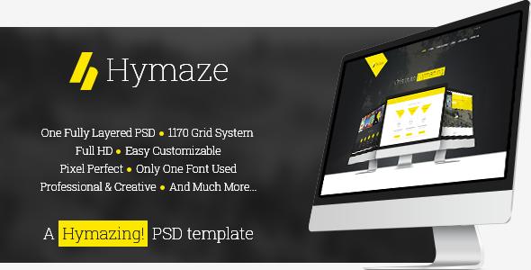 ThemeForest Hymaze PSD 8051870