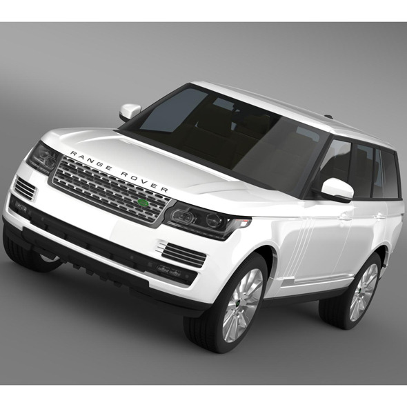 3DOcean Range Rover Supercharged L405 8095186