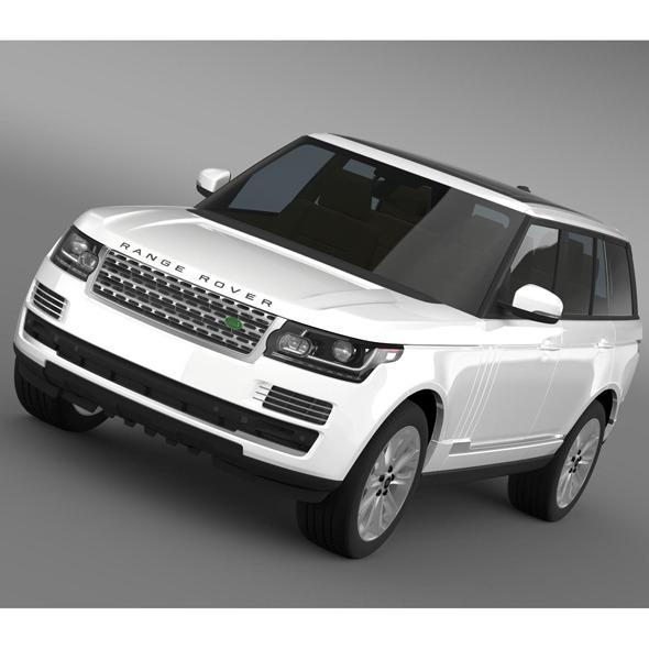 3DOcean Range Rover Vogue SDV8 L405 8095254