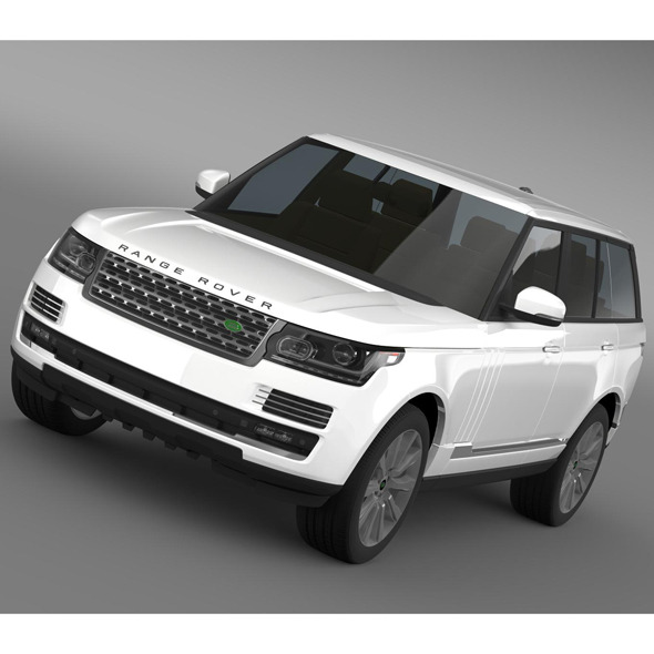 3DOcean Range Rover Vogue SE SDV8 L405 8095498