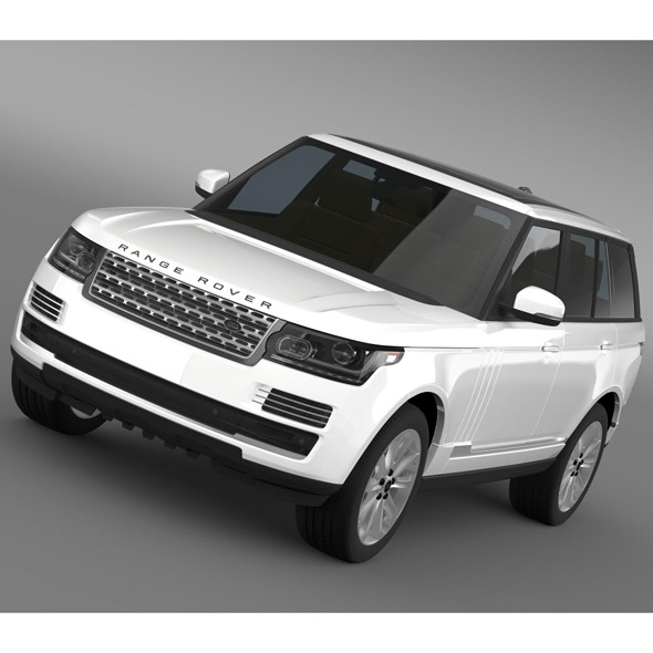 3DOcean Range Rover Vogue SE TDV6 L405 8095507