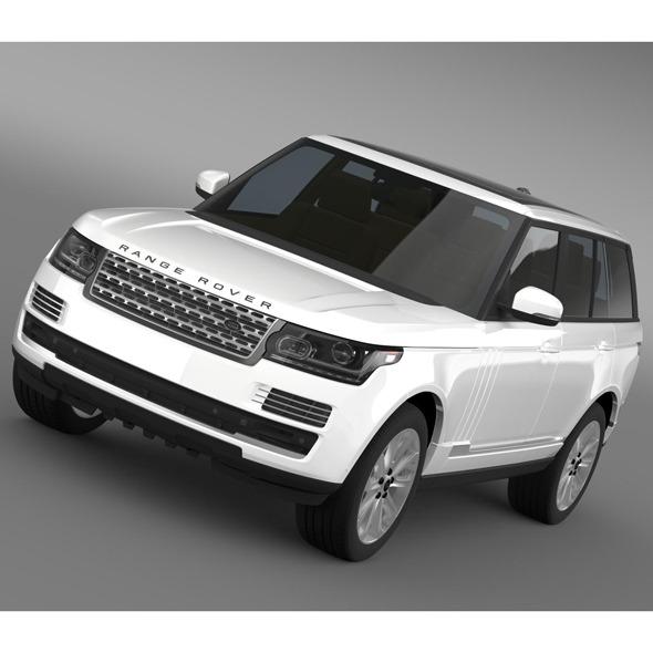 3DOcean Range Rover Vogue TDV6 L405 8095515
