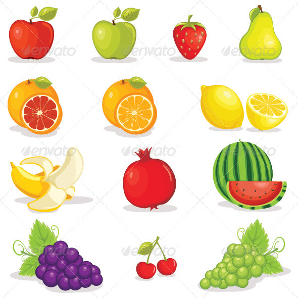GraphicRiver Fruits 8095674