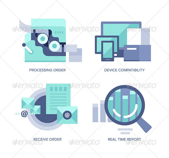 GraphicRiver Processing Online Order 8095785