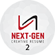 Next Gen Resume 2 - GraphicRiver Item for Sale