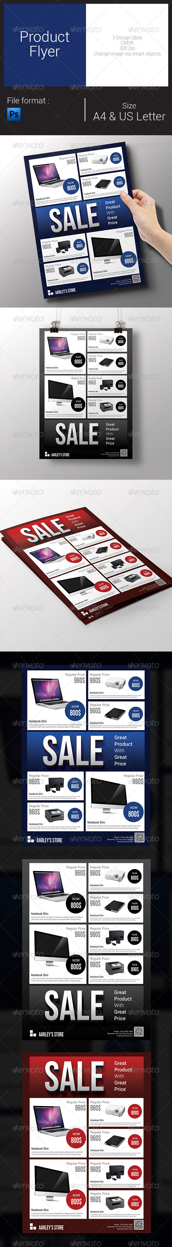 GraphicRiver Product Flyer 8096311