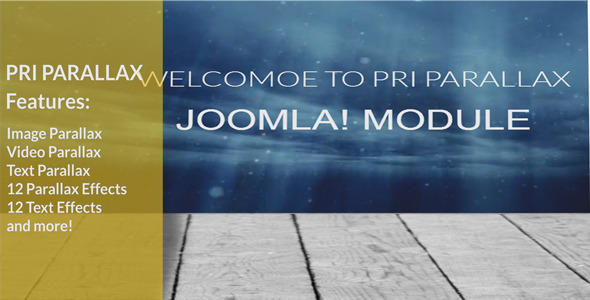 CodeCanyon PRI Parallax Joomla Module 8096429