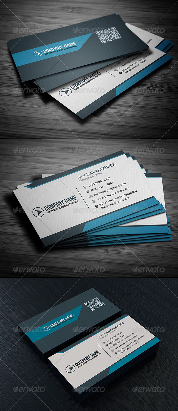 GraphicRiver Clean Business Card Vol 09 8097371