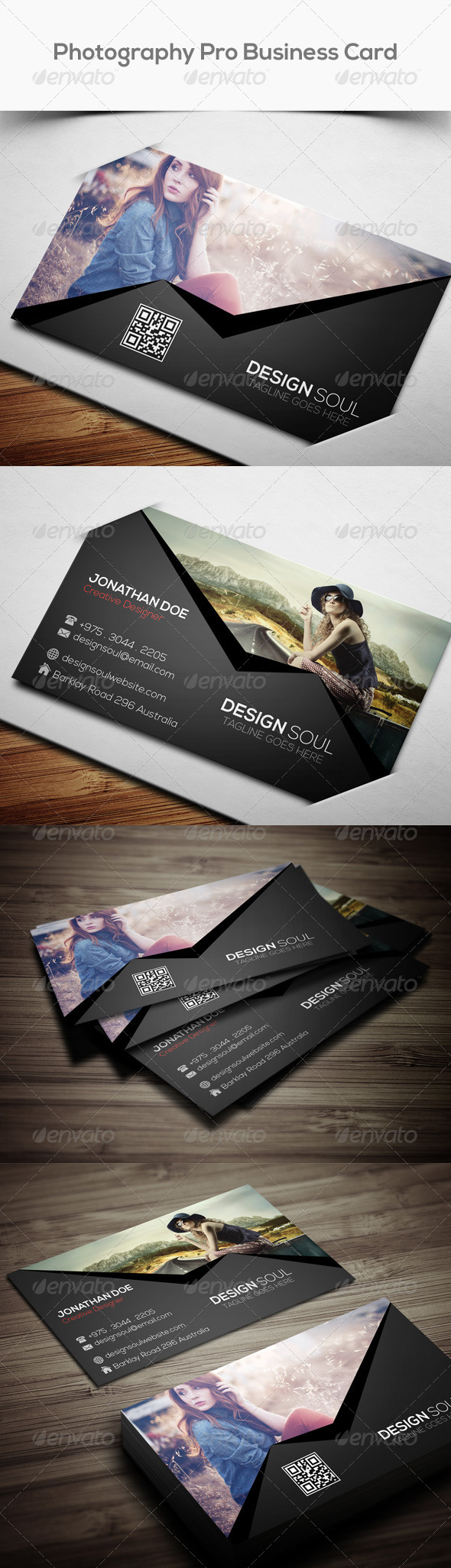 GraphicRiver Photography Pro Business Card 8097798