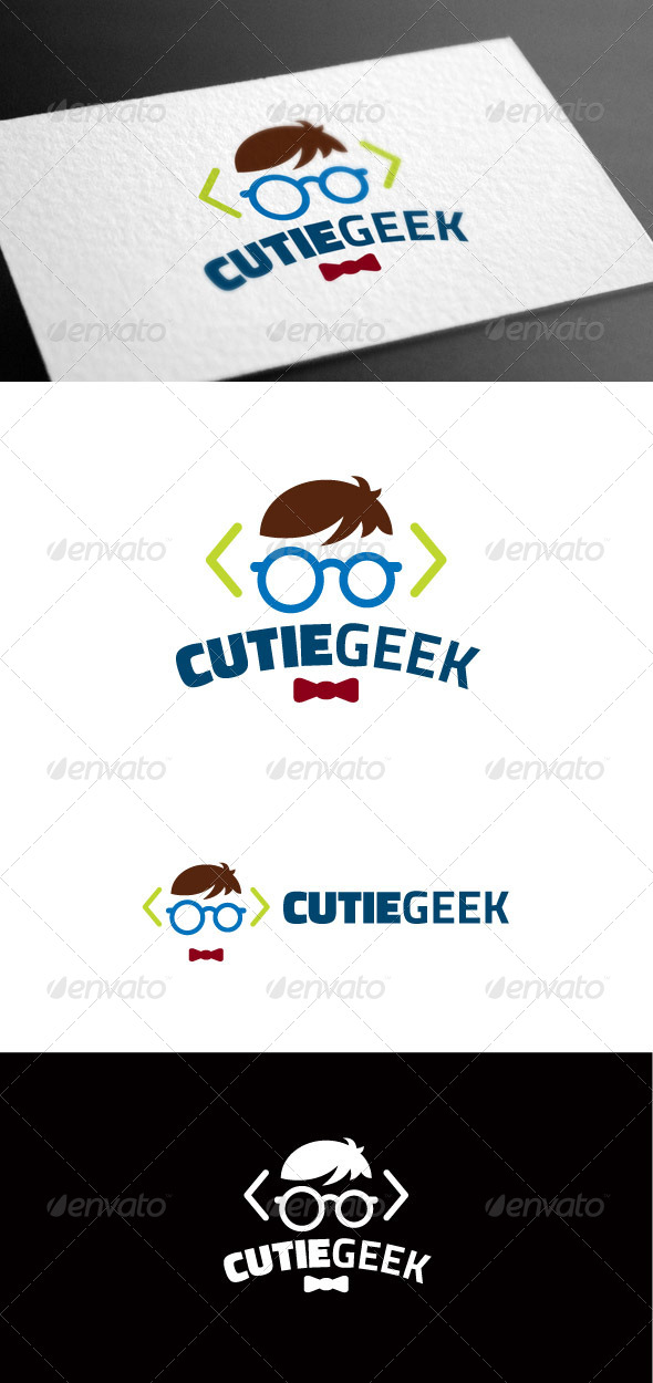 GraphicRiver Cutiegeek Logo Template 8097934