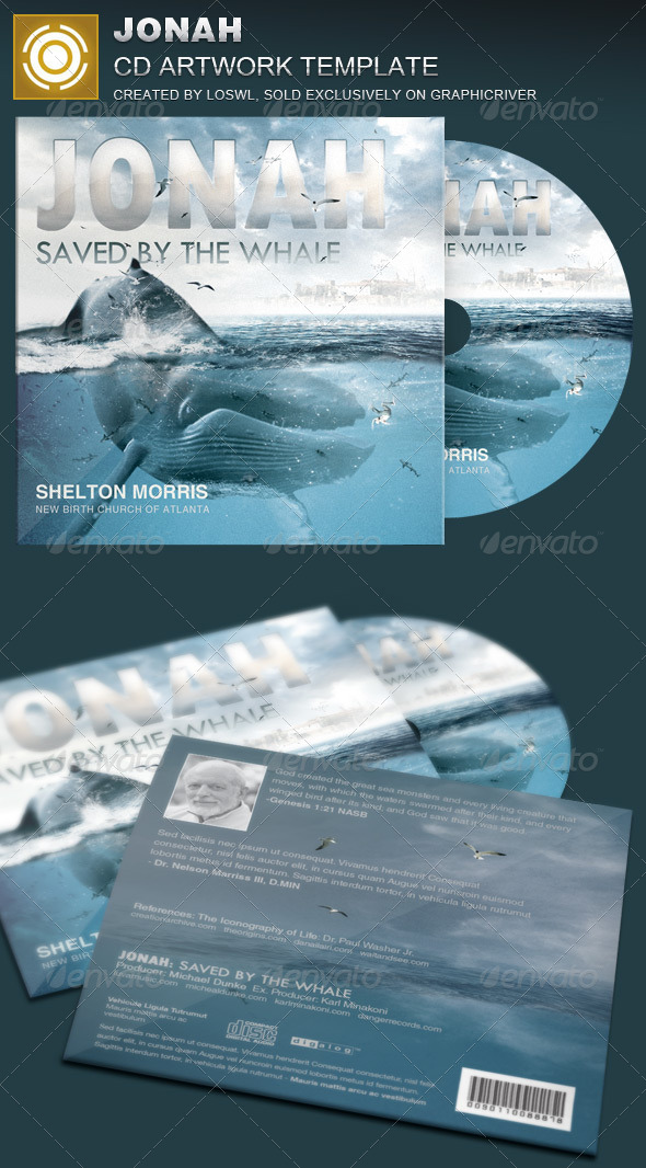 GraphicRiver Jonah CD Artwork Template 8098087