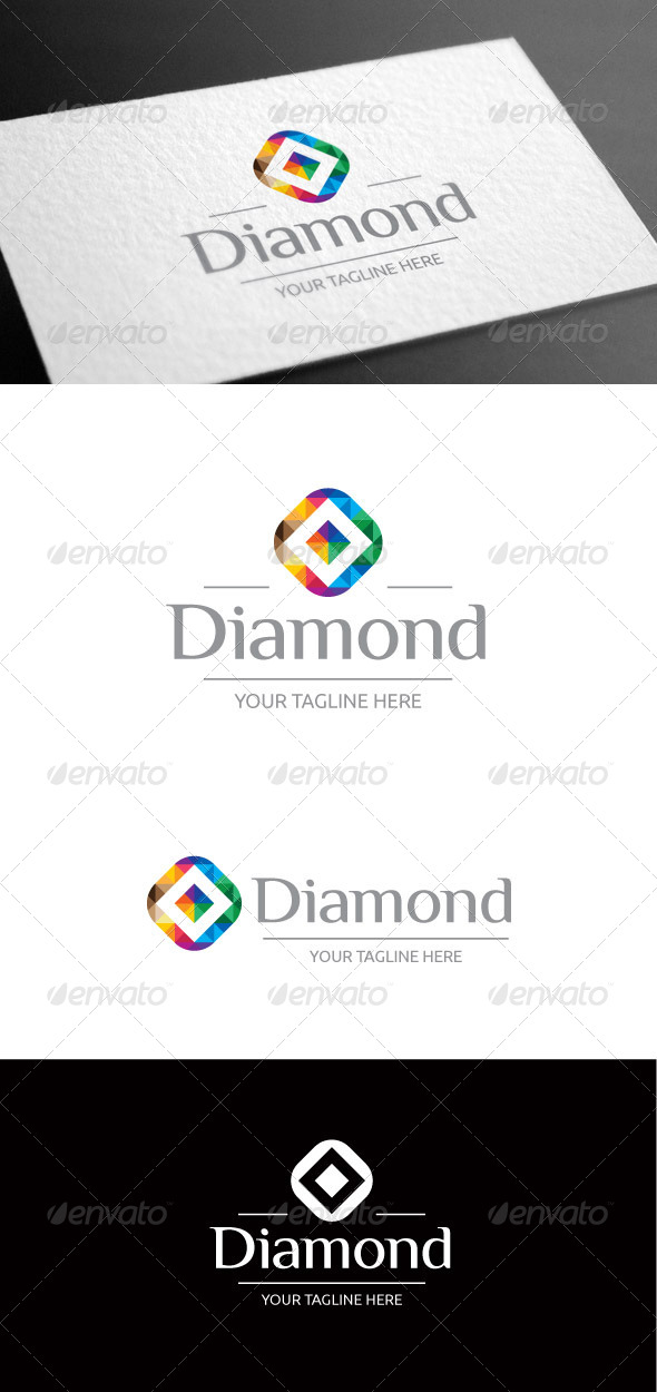 GraphicRiver Diamond Logo Template 8098091