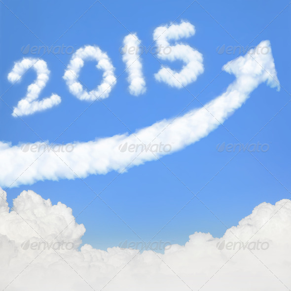 happy new year 2015 - Stock Photo - Images