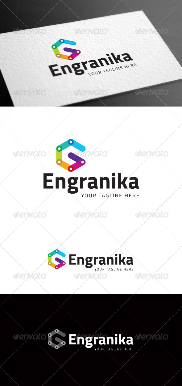 GraphicRiver Engranika Logo Template 8098160