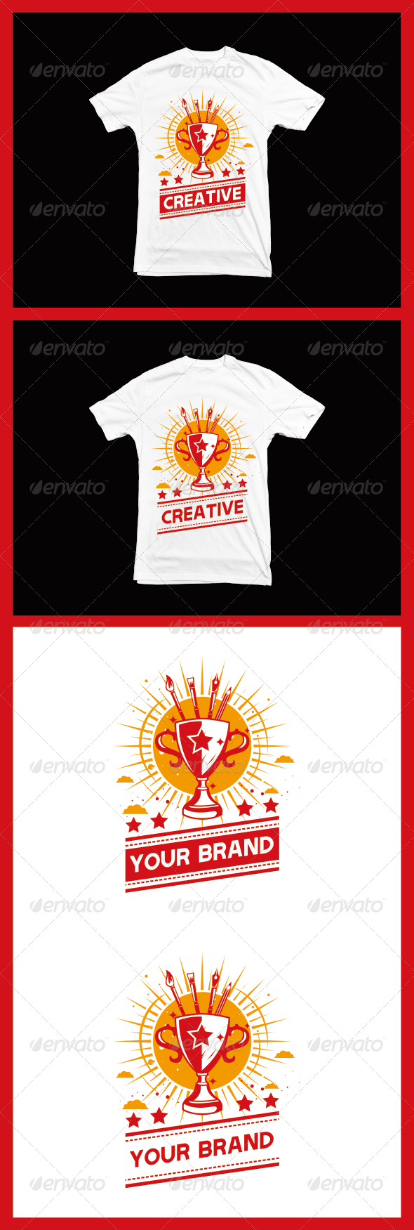 GraphicRiver Creative T-Shirt 8065075