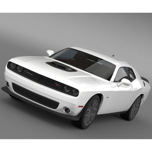 Dodge Challenger RT Shaker LC 2015 - 3DOcean Item for Sale