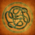Serpent Celtic Knot - PhotoDune Item for Sale