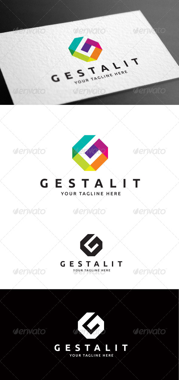 GraphicRiver Gestalit Letter G Logo Template 8099188