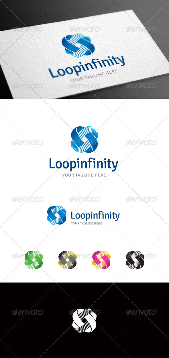 GraphicRiver Loopinfinity Logo Template 8099331