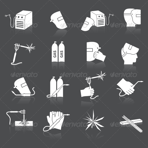 GraphicRiver Welder Icons Set 8099357