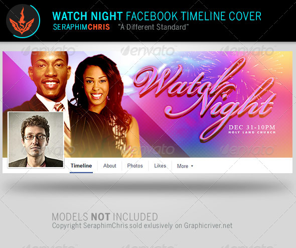 GraphicRiver Watch Night Facebook Timeline Cover Template 8099420