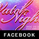 Watch Night Facebook Timeline Cover Template - GraphicRiver Item for Sale
