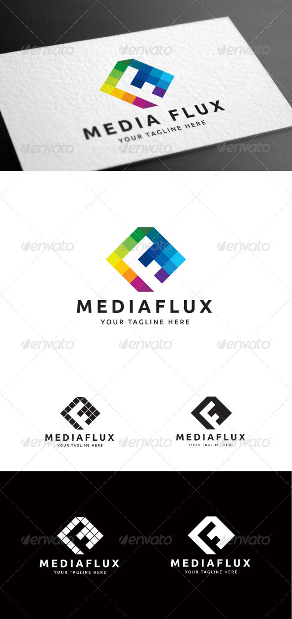 GraphicRiver Mediaflux Logo Template 8099523