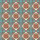 Floral Tile Pattern  - GraphicRiver Item for Sale