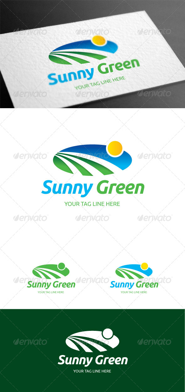 GraphicRiver Sunnygreen Logo Template 8099801