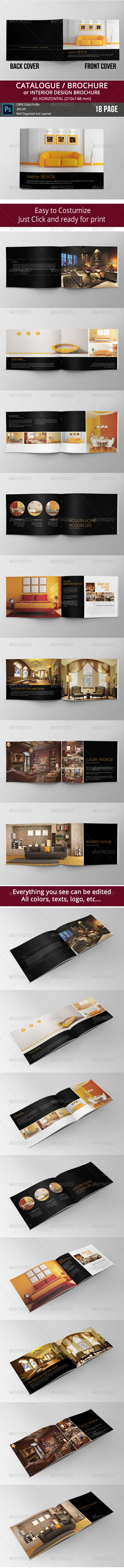 GraphicRiver Brochure Catalogue Booklet 8099987