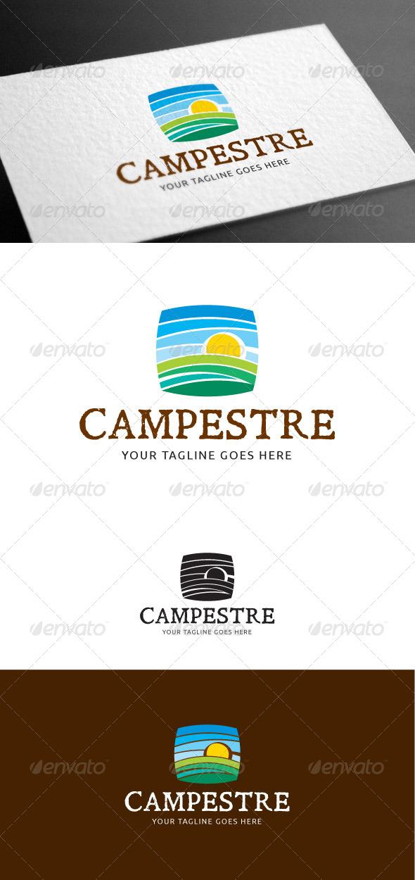 GraphicRiver Campestre Logo Template 8100075
