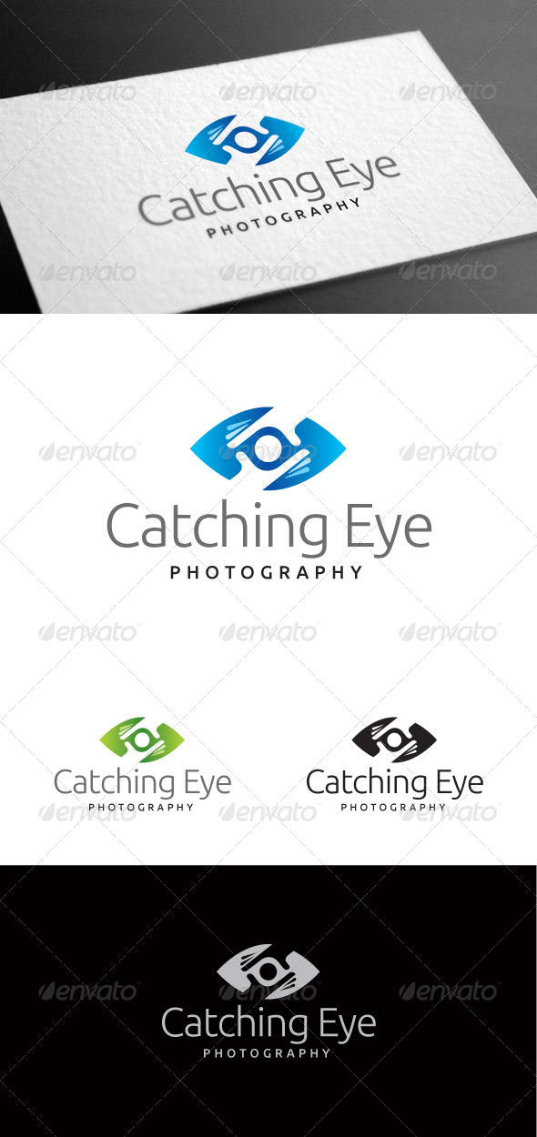 GraphicRiver Catching Eye Logo Template 8100089