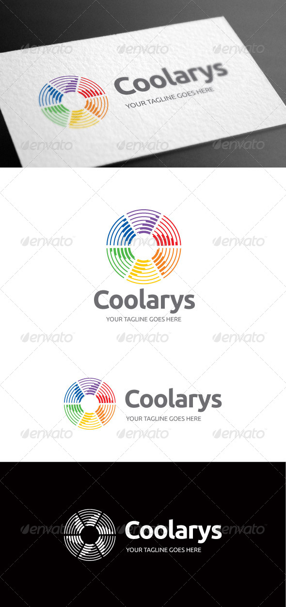 GraphicRiver Coolarys Logo Template 8100104