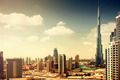 Burj Dubai - tallest building in the world, at 828m. Dubai, UAE - PhotoDune Item for Sale
