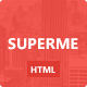 Superme - Portfolio HTML5 Template - ThemeForest Item for Sale