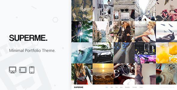Superme - Portfolio HTML5 Template