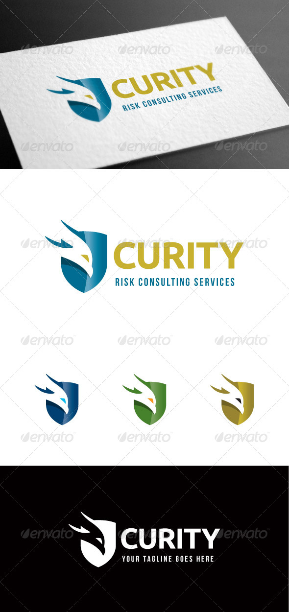 GraphicRiver Security Logo Template 8100329