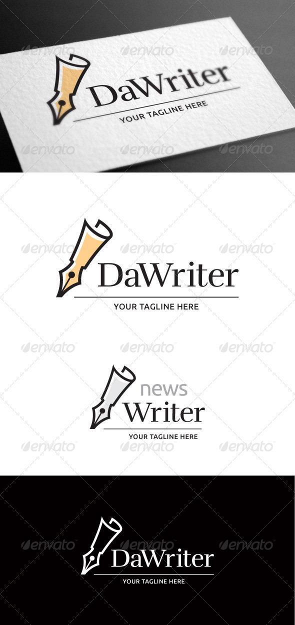 GraphicRiver Dawriter Logo Template 8100392