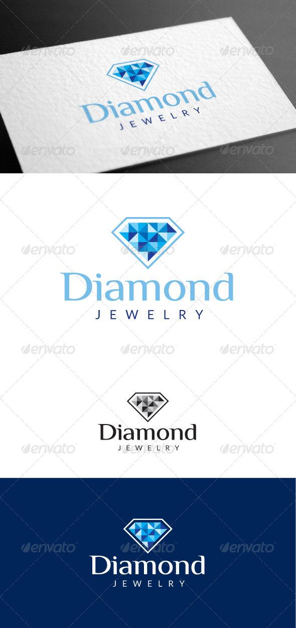 GraphicRiver Diamond Logo Template 8100393