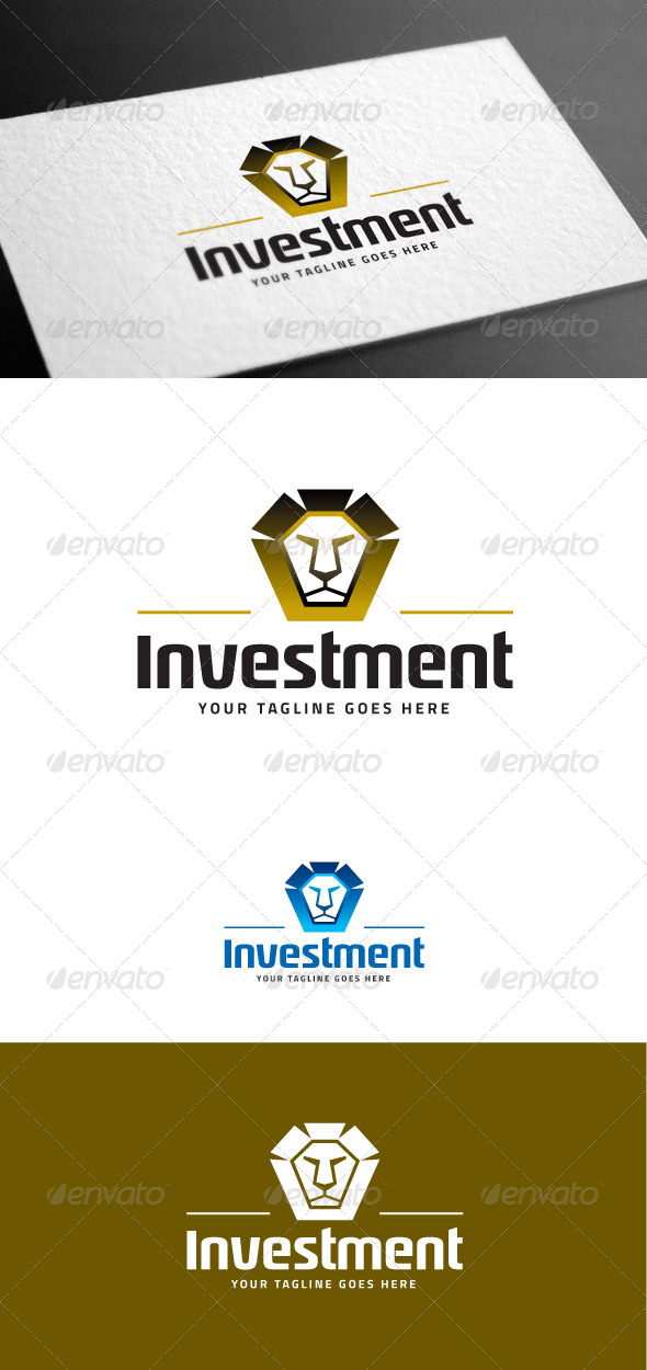GraphicRiver Investment Logo Template 8100399