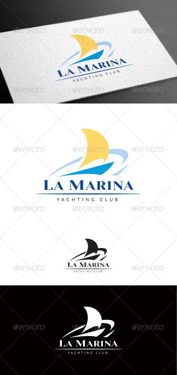 GraphicRiver Marina Logo Template 8100409